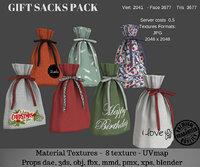 3D pack sack model