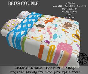 3D beds couple
