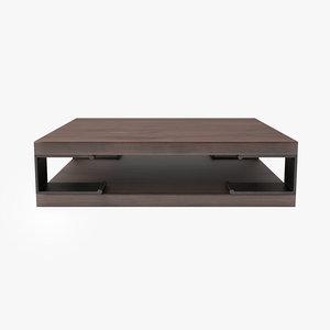3D thomas lavin racine coffee table