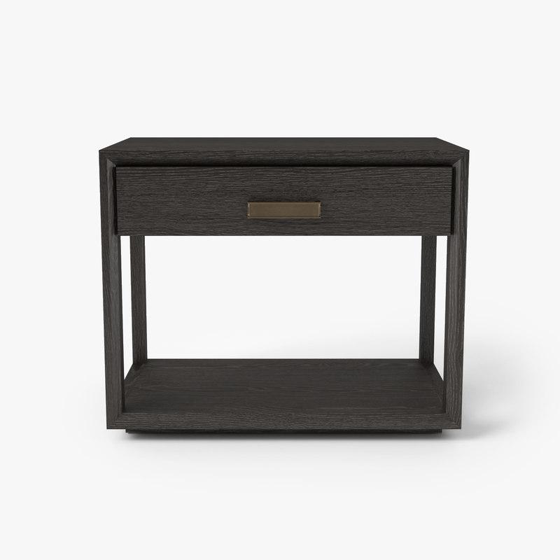 wyeth bedside table holly 3D model