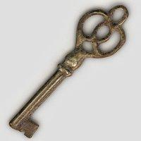 3D old key
