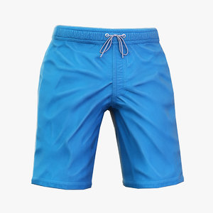 3D model beach shorts