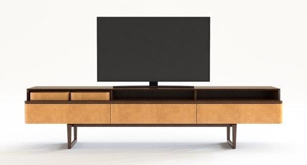 3D stands fidelio multimedia cabinet model