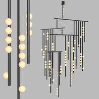 Lindsey Adelman - Drop system chandelier
