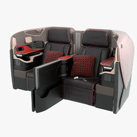 Singapore Airlines Business Seat Middle