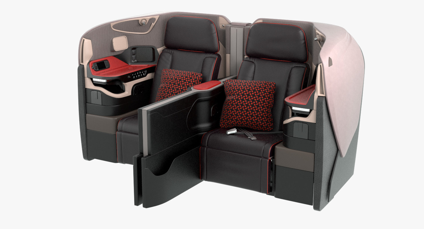 3D business airplane seat singapore