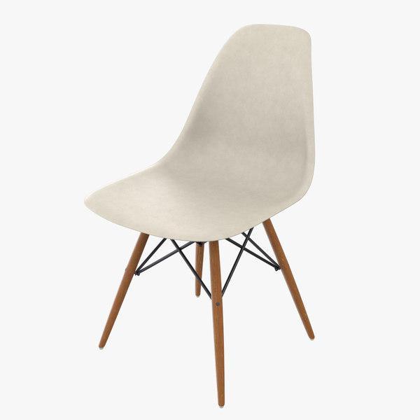 3D eames dsw eiffel chair model