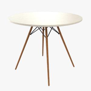 3D model eames dsw eiffel table