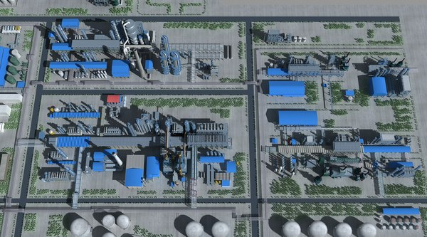refinery 3D