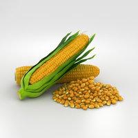 corn 3D