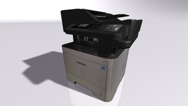 samsung printer 3D model