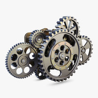 gear mechanism v 8 model