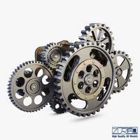 gear mechanism v 8 model