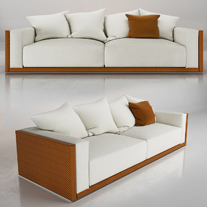 3D fendi freedom sofa