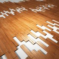 hardwood flooring 3D model