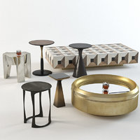 Luxury coffee table set