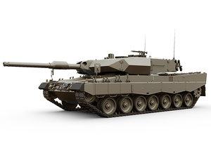 polish leopard 3D model