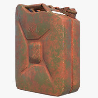 Jerrycan dirty