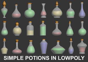 3D potions