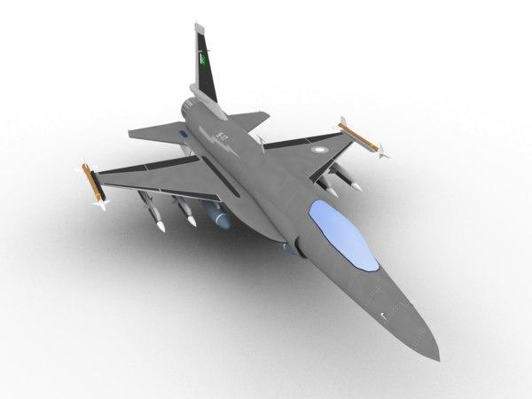 3D jf-17 xiao long