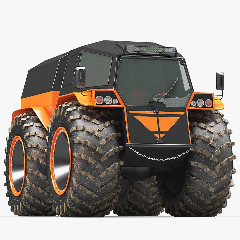 Sherp Atv For Sale >> Atv rover shatun 3D model - TurboSquid 1309976