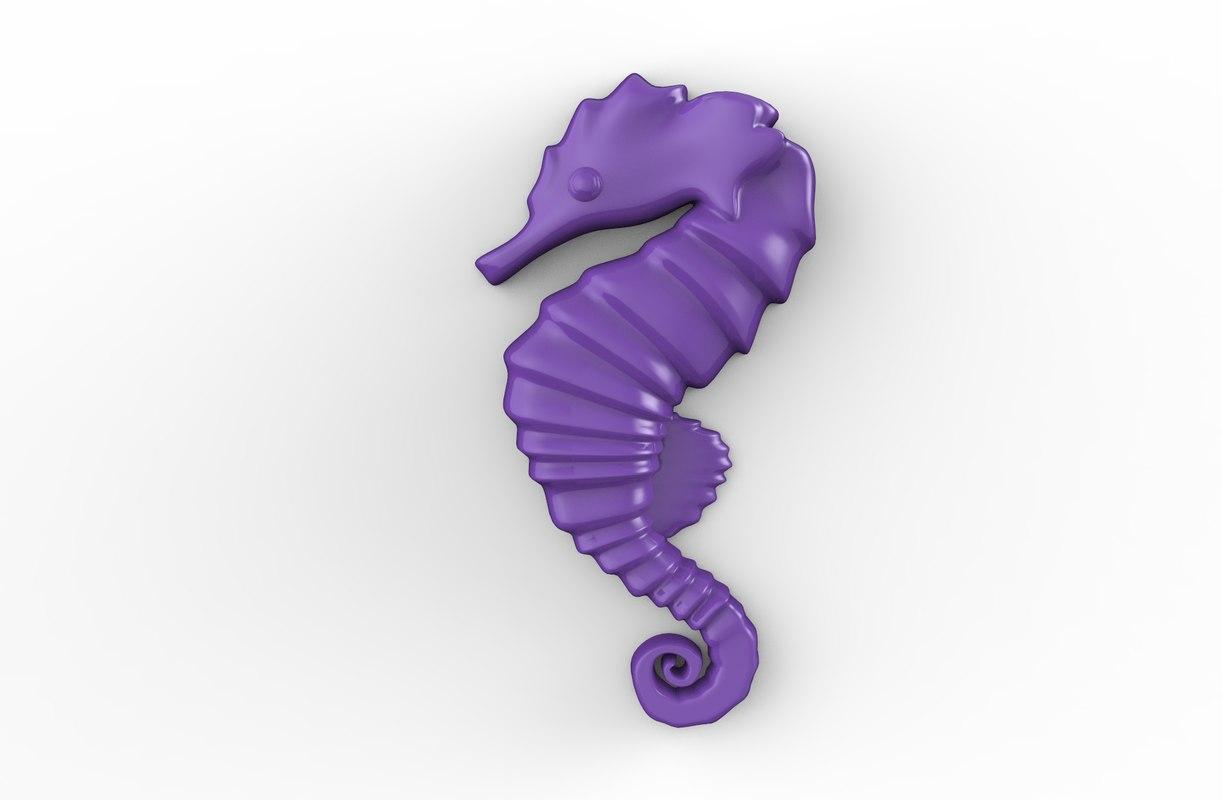 horse print printable 3D