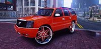 3D 2005 cadillac escalade model