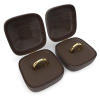 wedding rings boxes model