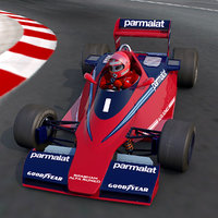 3D rigid body brabham bt-46 model