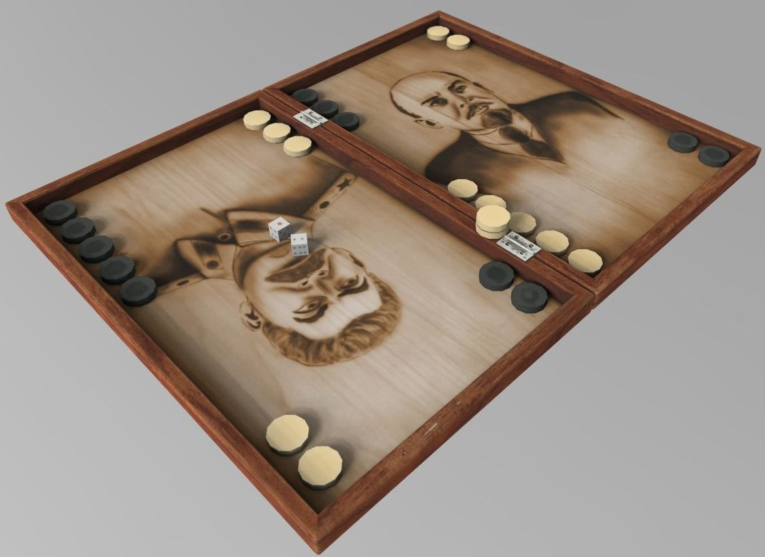 backgammon 3D