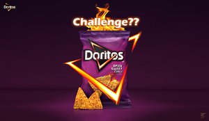 doritos nacho 3D model
