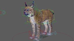 lynx rigged model