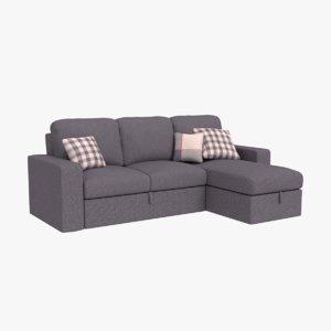3D sofa architectural