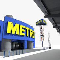 metro cash carry hypermarket model