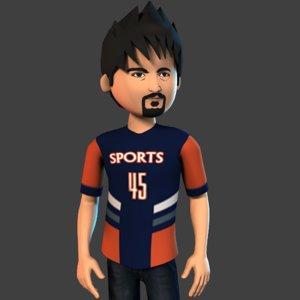 3D boy f