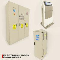 electrical panels 3D model