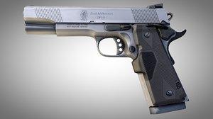 3D smith wesson handgun model