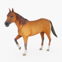 Horse (Rigged) 02
