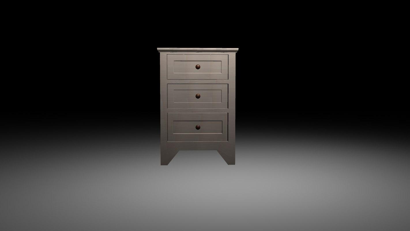 nightstand 3D model