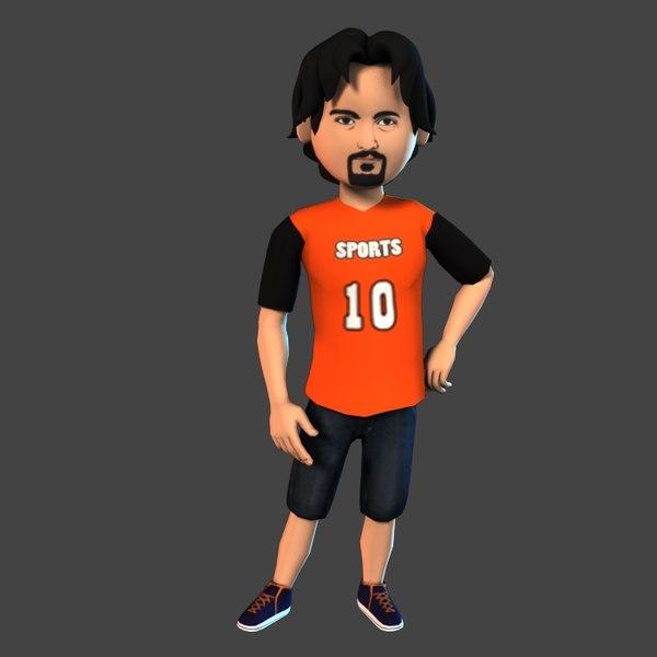 3D boy set b