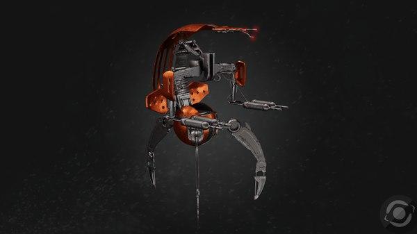 droideka 3D
