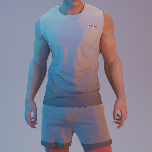 3D sexy men