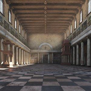 basilica 3D model