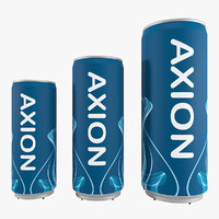 3D axion inflatable model
