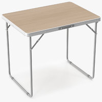 table folding old 3D model