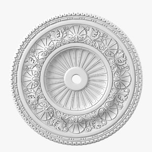 peterhof p56 ceiling rose 3D