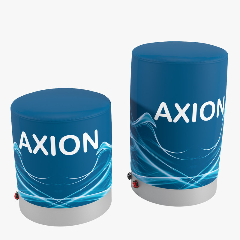 axion pouf inflatable furniture 3D model
