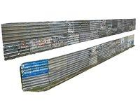 metal construction barrier pack 2 3D