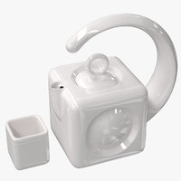 teapot cube set 3D model