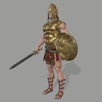 armor skirt helmet model